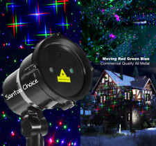 Outdoor Laser Light Projector Moving Christmas Lazer Light Show Red,Green, Blue