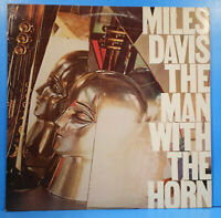 MILES DAVIS THE MAN WITH THE HORN LP 1981 ORIGINAL GREAT CONDITION! VG++/VG+!!A