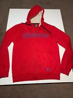 100% Mambo Zip Up Hoodie. Size M. Red. Great Condition