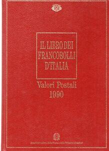 ITALIA anno 1990 LIBRO DEI FRANCOBOLLI completo mnh/**
