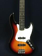 B-302PBS Haze Electric Jazz Bass Guitar Pack,Sunburst+Free Gig Bag,Strap,Picks..