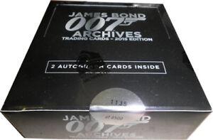 Rittenhouse James Bond Archives 2015 Factory Sealed Box
