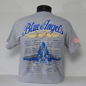 CLOSEOUT! Blue Angels 2020 Legacy Hornet Tour Tees in Mens Ladies & Long Sleeve