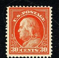 [MC4]  Sound US #420  MNH 1912 SL Watermark Perf 12 ~ 30c Franklin