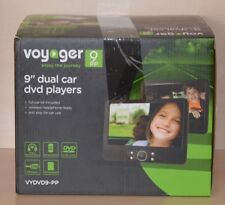 Voyager Dual-Player KfZ-DVD-Player 22,8 cm/9 Zoll~LCD-Display~Auto~B-Ware