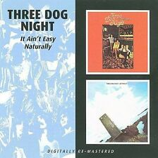 It Ain't Easy/Naturally by Three Dog Night (CD, Feb-2010, Beat Goes On)