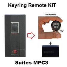Roller Garage Door Remote Control KIT suits B&D UHF Radio MPC3 315mhz TX315