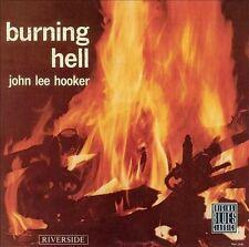 JOHN LEE HOOKER - Burning Hell (CD, Nov-1992, Original Blues Classics/Riverside)
