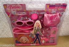 Barbie Doll Fashion Bag Set Accessories Purse Phone Sunglasses Wristlet Keychain