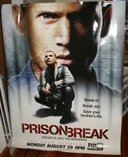 Prison Break Poster Rare Dominic Purcell wentworth miller