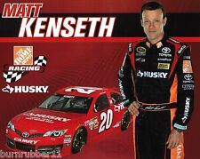 "2013 MATT KENSETH ""HUSKY"" HOME DEPOT JOE GIBBS GEN 6 #20 NASCAR SPRINT POSTCARD"