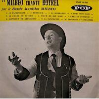 ++BARDE STANISLAS MILBEO chante BOTREL LP 25cm paimpolaise/penduick RARE VG++