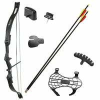 17-21lbs Pro Compound Bow Package Kit Arrow Archery Practice Hunting Fishing