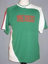 Mexico Adult Medium Green and White Jersey ( M World Cup Copa de Mundo )