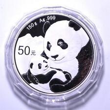 China 2019 Panda Commemorative Silver Coin 150g 50 Yuan COA