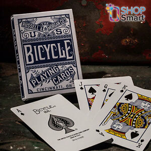 BICYCLE CHAINLESS BLUE PLAYING CARDS POKER DECK MAGIC TRICKS MADE IN USA NEW