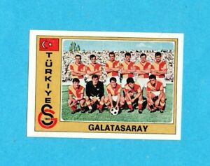 EUROFOOTBALL 76/77-PANINI-Figurina n.283- GALATASARAY TEAM -TURCHIA-Recuperata