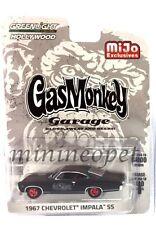 GREENLIGHT 51120 B GAS MONKEY GARAGE 1967 CHEVROLET IMPALA SS 1/64 BLACK