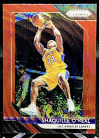 Shaquille O'Neal 2018-19 Panini Prizm Ruby Wave Prizms #35 Los Angeles Lakers