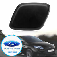 LH Bumper Headlight Headlamp Washer Jet Cover Cap For Ford Focus 2012-2014