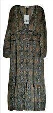 BNWT - Stunning Zara Printed Dress  Size - Large