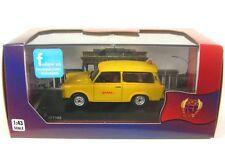 "Trabant 601 ""Follow Me"" DHL hub Leipzig amarillo coche modelo 1 43 / ist Models"