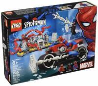 LEGO Marvel Spiderman Bike Rescue Superheroes 76113 Spider-Man Kit 235 Pieces