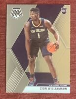 2019-20 Mosaic ZION WILLIAMSON Rookie Card #209 Base RC New Orleans Pelicans🔥