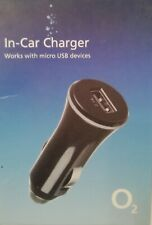 In Car Charger works with micro usb  2.1A