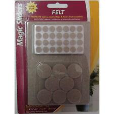 Magic Sliders  Felt  Protective Pads  Oatmeal  Assorted  102 pk Self Adhesive