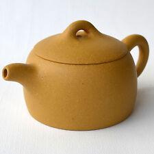 Teapot Zisha 黃塅泥 50ml-70cc YIXING fine nud little tea pots beauty test taste