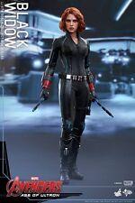 Hot Toys MMS 288 Avengers Age of Ultron  Black Widow Scarlett Johansson NEW
