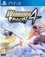 Warriors Orochi 4 PS4 PlayStation 4 Video Game Mint Condition UK Release