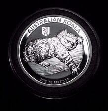 New 2012 Australian Silver Koala Bear Berlin Privy Mark 1oz Bullion Encapsulated
