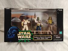 Star Wars Power of The Force Jabbas Skiff Guards Klaatu Barada Nikto 1998