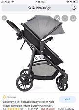 Baby Stroller 2 In 1