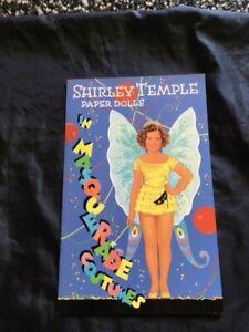 Shirley Temple Paper Dolls, B. Shackman, 2098, NEW