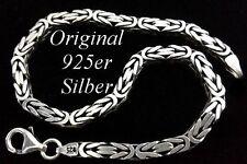 Echte Edelmetall-Armbänder ohne Steine im Armreif-Stil aus Sterlingsilber für Herren