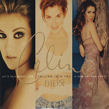 Let's Talk About Love/Falling into You/A New Day Has Come by Celine Dion 3CD