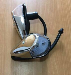 VW Beetle Turn Signal Light 2pcs Assembly Crystal Lens VOLKSWAGEN Bug 1964-1973