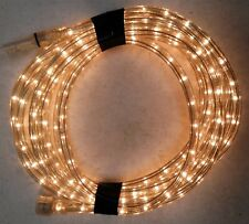 White LED Strip 110V Waterproof Tape Lights Rope With Plug (5M/18ft)