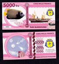 ILES GLORIEUSES ● TAAF / COLONIE ● BILLET POLYMER 5000 FRANCS ★ N.SERIE 000002