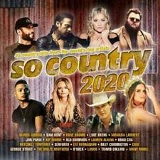 SO COUNTRY 2020 - Various Artists 2CD *NEW* 2020