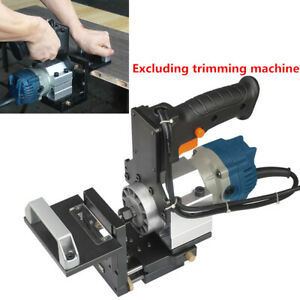 2in1 Slotting Bracket Of Trimmer Panel Wardrobe Punch Locator Woodworking Tools