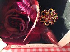 2 Sets Modeschmuck Brosche Haarblume Ansteckblume Haarspange NEU + OVP unbenutzt