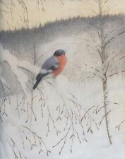 Kittelsen Theodor Winter Bird Print 11 x 14       #4277