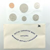 1972 Canada Proof Like Uncirculated Canadian Coin Set Royal Canadian Mint Q958