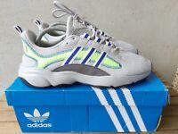 Adidas grey haiwee trainers Size 11 UK EU 46 Mens Originals Trainers RRP £70