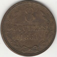 More details for 1864 guernsey 8 doubles high grade | pennies2pounds