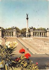 B46509 Heroes Square with the Milenium Monuments Budapest   hungary